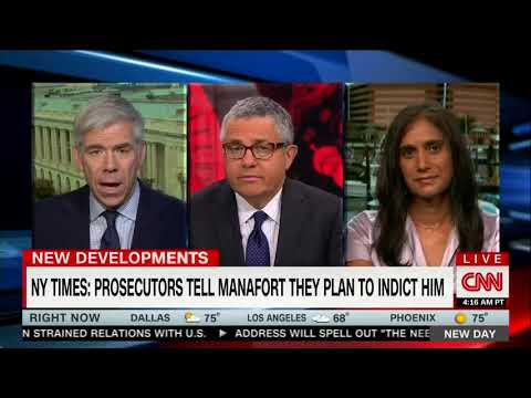 Asha Rangappa Appears on CNN's 'New Day' To Discuss Wiretapping of Fmr. Trump Camp Manager