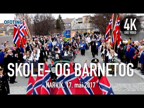Ofoting.tv: Barnetoget i Narvik, 17. mai 2017