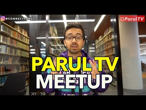 ParulTV Montreal Meetup #1 Invitation in Punjabi,English and French