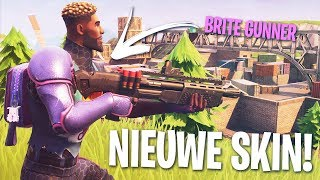 *NEW* BRITE GUNNER SKIN! - FORTNITE BATTLE - NEDERLANDS