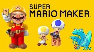 Mario Maker! 100 Mario Expert Challenge with Viewer Levels in Between!