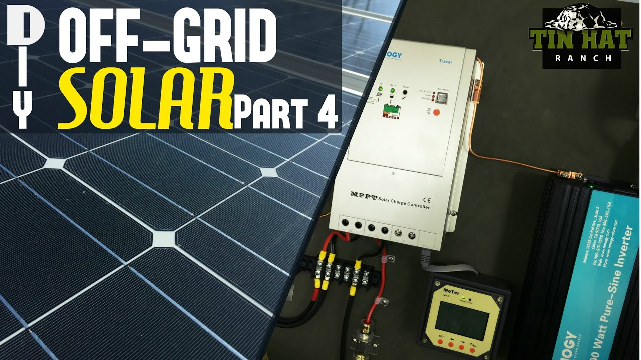diy off grid solar how to wire solar panels