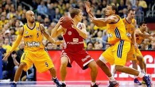 8. Spieltag: ALBA Berlin vs. FC Bayern Basketball 94:74