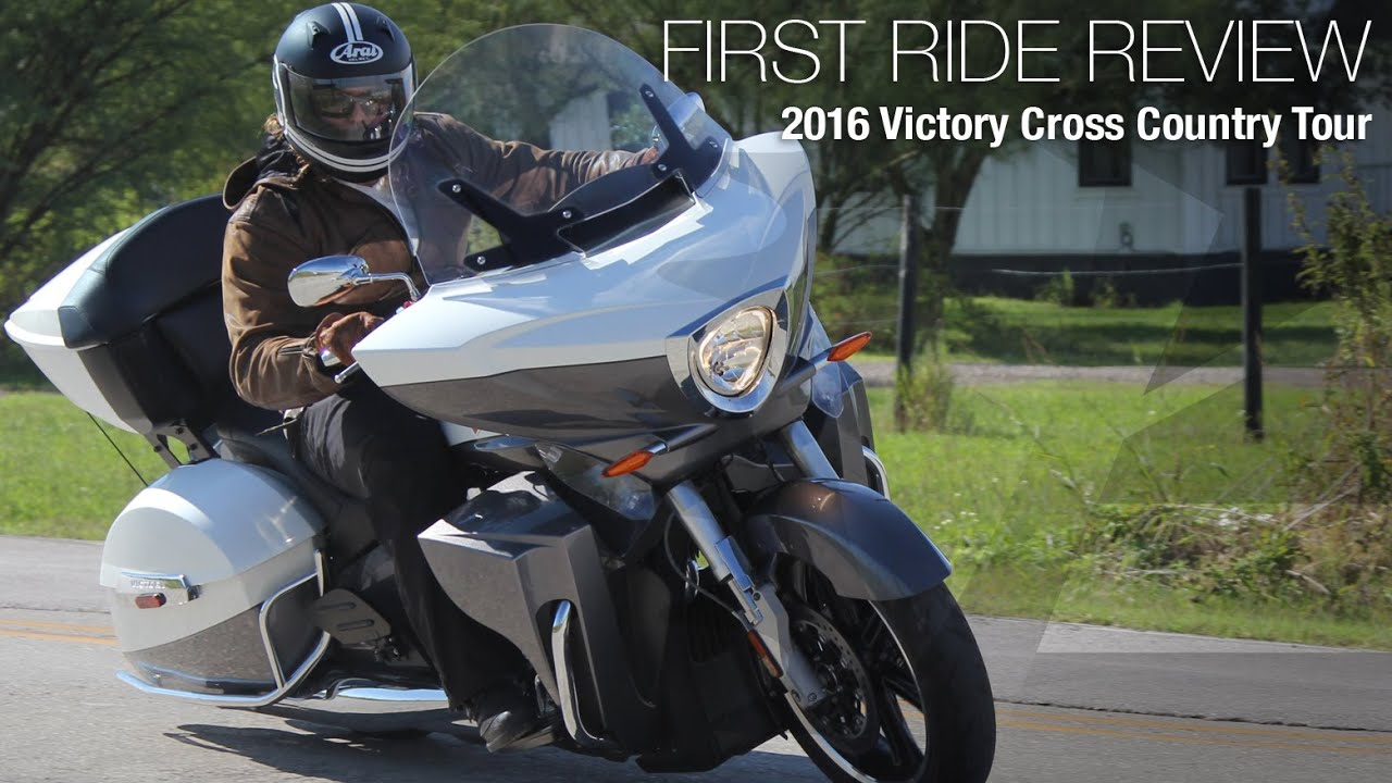 2016 Victory Cross Country Tour First Ride Review Motousa
