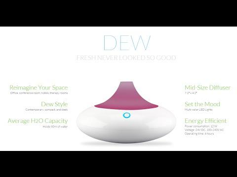 ZAQ Dew LiteMist Aromatherapy Essential Oil Diffuser Review