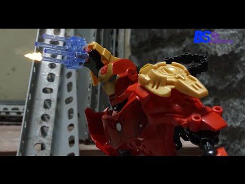 Iron Man vs The Hulk Stop Motion