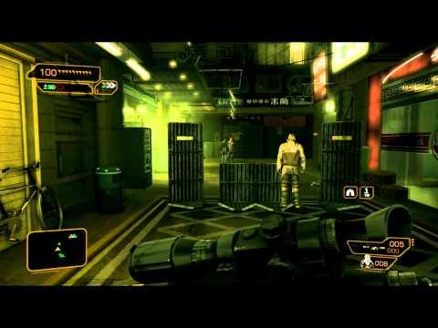 Deus Ex: Human Revolution - Sidequest: Shanghai Justice Walkthrough (part1)