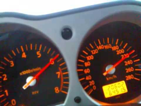 280 hk Nissan 350Z acceleration