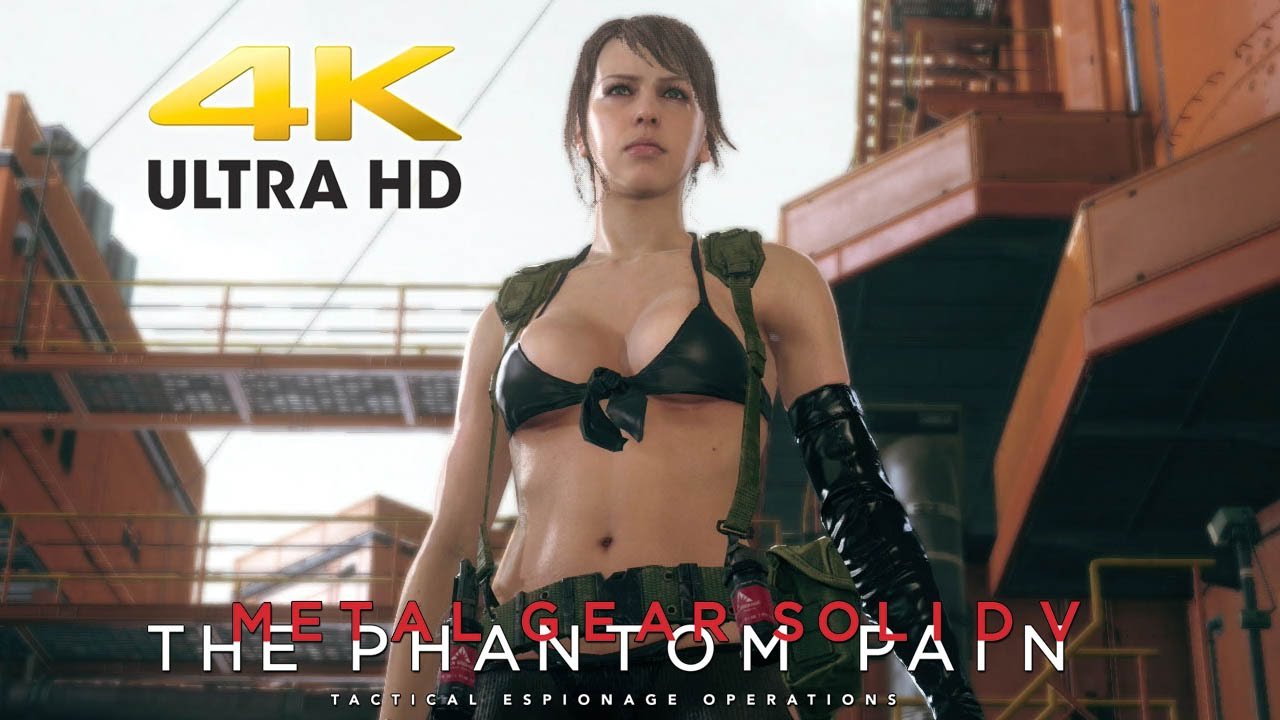 Metal Gear Solid 5 The Phantom Pain Quiet Trailer At 4k Ultra Hd 2160p