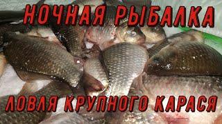 ЛОВЛЯ КАРАСЯ ЗИМОЙ на УДОЧКУ Зимняя рыбалка на карася Как ловить карася зимой Рыбалка с ночевой
