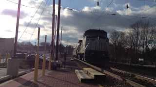 amtrak dash-8 514 leads the Pennsylvanian train # 42 at malvern
