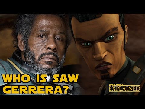 Who is Saw Gerrera: Forest Whitaker's Rogue One Role Revealed - Star Wars Explained