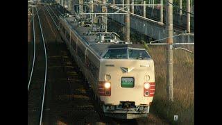 381系臨時急行ちくま 大阪送り込み回送