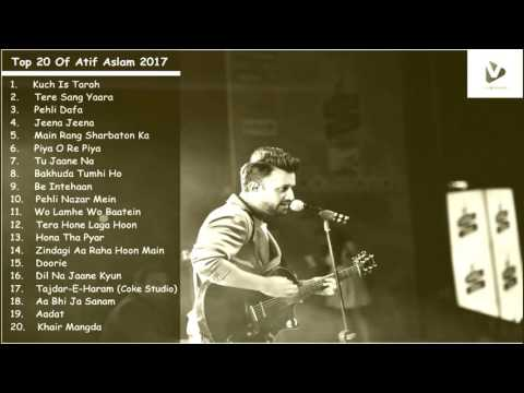 Best Atif Aslam Songs collection sad songs, love songs, heart touching latest song 2017  BBS