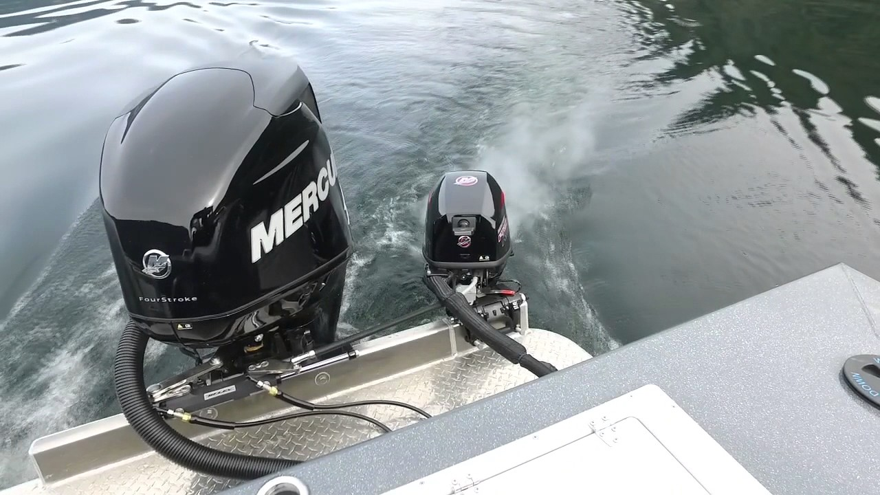 Perfect Outboard Kicker Setup Youtube