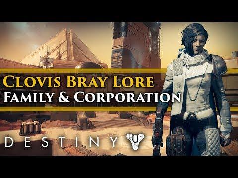Destiny 2 Lore - Ana Bray, The Bray Family & The Clovis Bray Corporation! (Warmind DLC Lore)