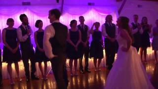 Best Unexpected Wedding First Dance Surprise!