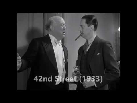 42nd Street (1933) Pre~code , Guy Kibbee. scene