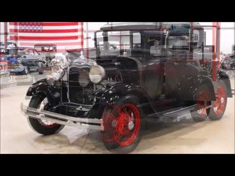 1928 Ford Model A Dk Gray