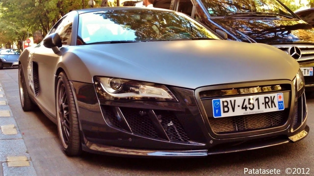 Stealth Tubi Audi R8 Start Up and Drive - YouTube