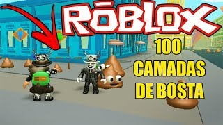 JOGUEI MERDA NA CARA DO CRIADOR DO JAILBREAK!! POOP SCOOPING SIMULATOR (ROBLOX)