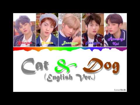 txt(투모로우바이투게더)---cat-&-dog-(english-ver.)-lyrics-[영어가사_한국어발음_한국어번역]-[color-coded_eng]