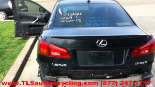 2008 Lexus IS250 Parts for Sale - Save upto 60%