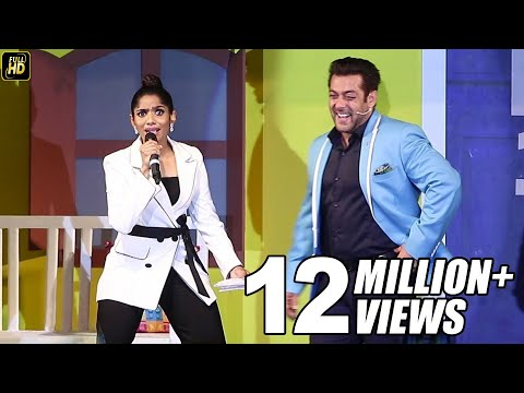 Johnny Lever's Daughter Jamie Lever Funny Mimicry With Salman Khan