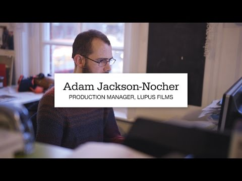 Adam Jackson-Nocher, Production Manager at Lupus Films