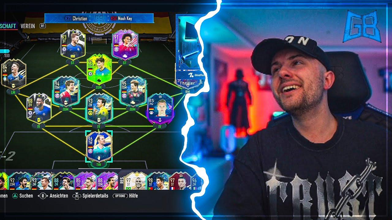 GamerBrother BEWERTET sein DEUTSCHLAND EM WEEKEND LEAGUE TEAM 😁 | GamerBrother Stream Highlights