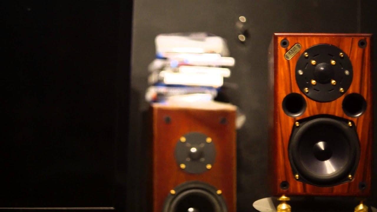 Acoustic Energy Ae1 Studio Monitors Youtube
