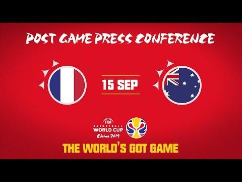 France v Australia - Press Conference