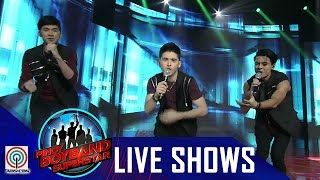 Pinoy Boyband Superstar Live Shows: Allen, Miko & Russell