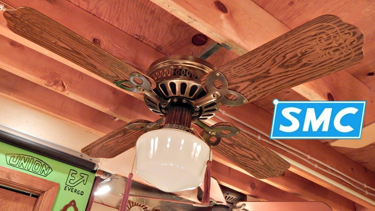 SMC U42 Ceiling Fan - YouTube