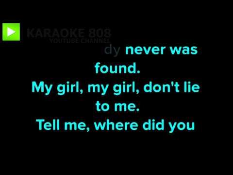 Where Did You Sleep Last Night ~ Nirvana Karaoke Version ~ Karaoke 808