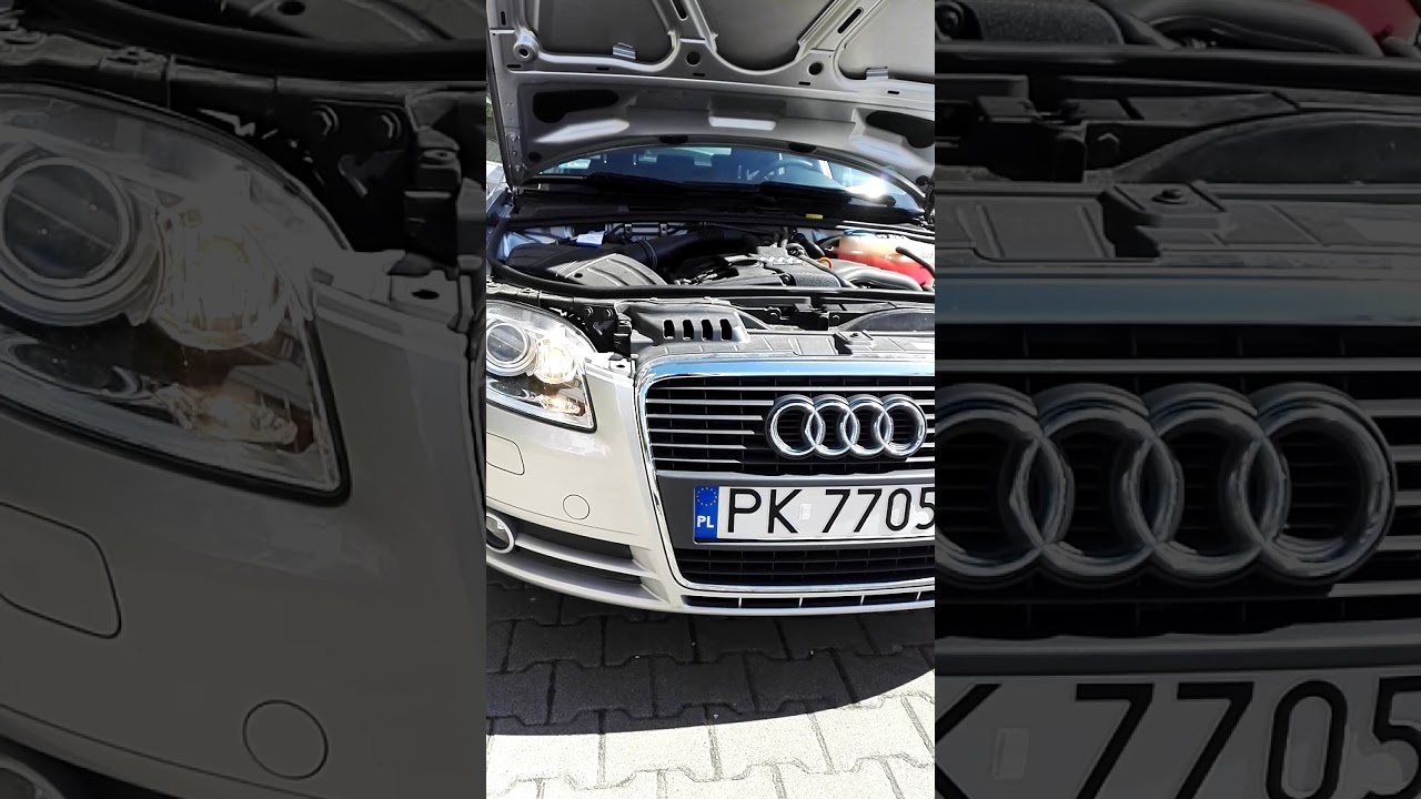 Audi A4 B7 2006 Benzyna 20 131 Km Youtube