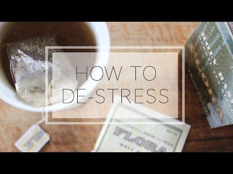 How to De-Stress | 8 Anti-Stress Essentials