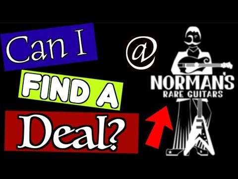 Looking For Deals In An Unlikely Place   Guitar Hunting At Norm's Rare Guitars