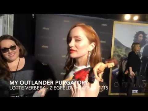 Outlander's Lotte Verbeek at Ziegfeld: MOP
