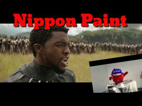 Nippon Paint AD in Avengers Infinity War Movie