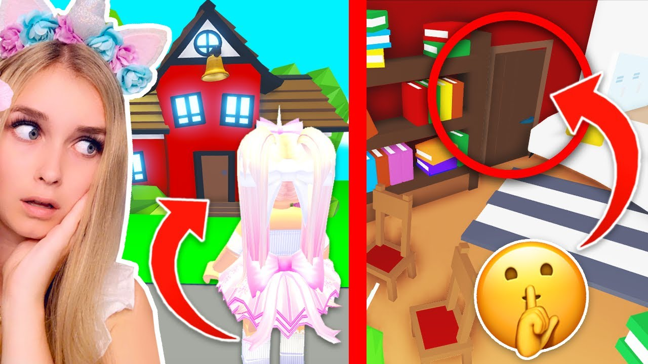 Iamsanna Roblox Avatar In Adopt Me 2020 This New Hidden Location In The Adopt Me School Will Scare You Roblox Youtube