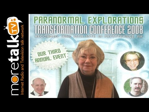 Dolores Cannon  Conference 2008 with psychic detective Carol Pate