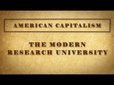 The Modern Research University