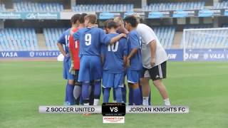Final B15: Z SOCCER UNITED - JORDAN KNIGHTS F.C.
