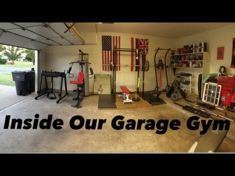 A Look Inside Of Our Garage Gym