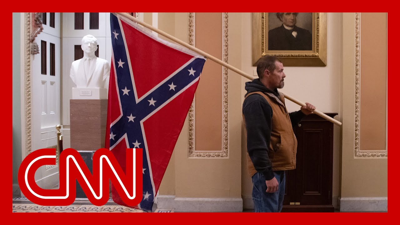 Kevin Seefried, who carried Confederate flag into the Capitol during ...