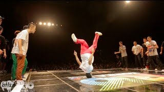 Massive Monkees Vs Jinjo Crew | R16 BBOY Battle 2012 | YAK FILMS