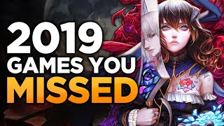 8 Underappreciated Games You MIGHT Have Missed in 2019