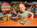 4 Year Old builds Lego Desert Skiff 9496 Star Wars! Speed Building Time Lapse