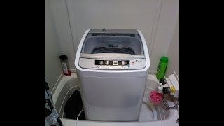 HOW To My New Mini Compact Automatic Portable Washer Review